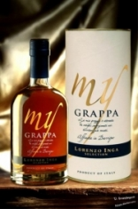 Grappa aged and refined in barrique boxed 50 cl. 43%